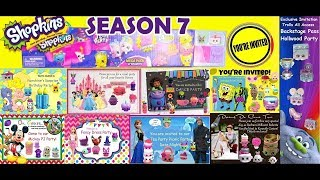 Shopkins Season 7! Party with the Shopkins~Disney Friends~Hulk~Care Bears~Trolls~Barbie + More!!