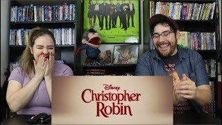 Christopher Robin  - Official Teaser Trailer Reaction