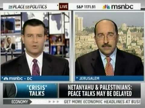 Dore Gold Discusses the Recent Meetings between Obama and Netanyahu on MSNBC