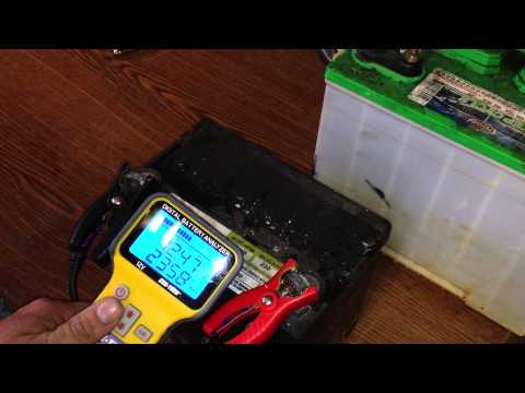 Lead Acid Battery Desulfation Using Epsom Salt  -Attempting to use Capacitive Charger  Part 6 of 6