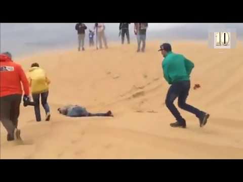 Dakar 2018: La verdad del terrible video en que camión aplasta espectador