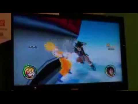 super saiyan turles. Dragon Ball Raging Blast 2 Demo Gameplay Turles Vs. Super Saiyan Goku,