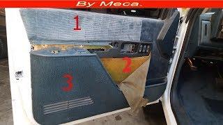 Como Tapizar La puerta de Un Chevy Silverado 1990 - 1994