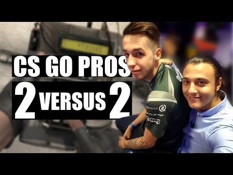 FROM CS GO VS. THE PROS 1v1, TO THE BRAND NEW... 2v2!!!