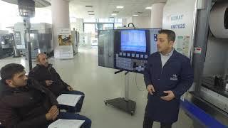 26 Şubat/2 Mart CNC İşleme Merkezi Operatör Eğitimi 4.Gün - Fanuc Kontrol Ünitesi Tanıtımı
