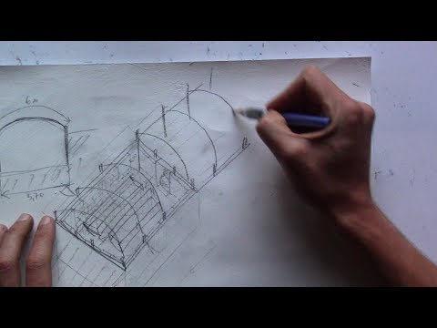 Проект зимней и круглогодичной подземной теплицы термос