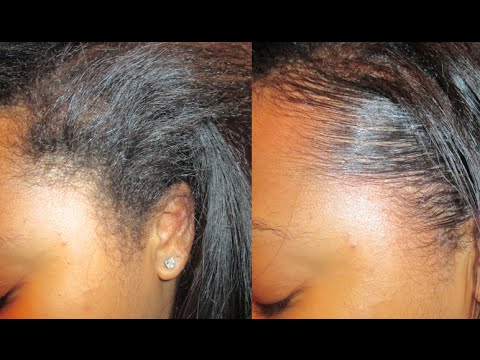 Tutorial: How To Lay Your Edges Down Flat