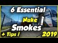 6 Essential Nuke smokes [CSGO] 2019