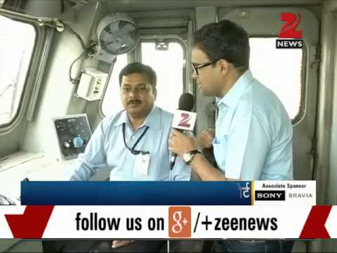 Zee Media Exclusive chat with Loco staff and crew of Rajdhani Express