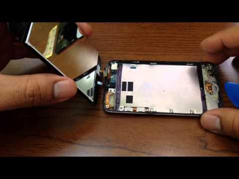 iPOD TOUCH 4G. COMO REPARAR EL BOTON DE MENU (Parte 1)