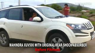 XUV500 TRANSFORMED TO INNOVA WITH ARC REAR SHOCK ABSORBER