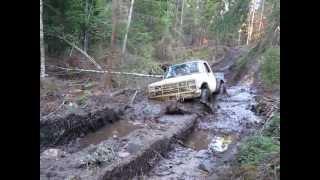 Chevy K30 mud wheeling August 2012