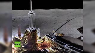Revelan fotos panorámicas de la luna tomadas por la sonda china Chang'e-4