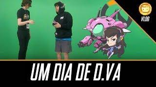 Dia de D.va na OVERWATCH PAYLOAD TOUR E3 2018 | Aquele Vlog