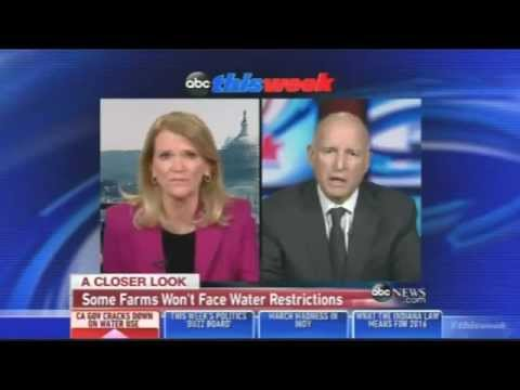 Moonbeam Jerry Brown: 'Some People Have a Right to More Water' Than Other