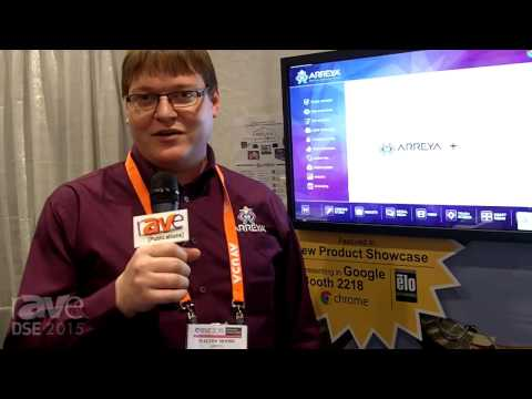 DSE 2015: Arreya Offers Cloud-Based Digital Signage Content Creation and Distribution Service