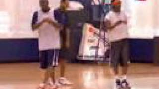 Michael Jordan Works out with Young Bobcats 12/12/2012