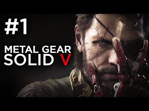 Metal Gear Solid 5 Phantom Pain Gameplay Walkthrough -  Part 1 - AWAKENING (PS4)