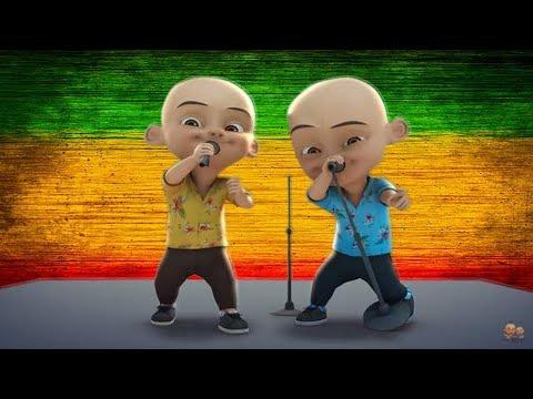 Upin Ipin Bernyanyi Lagu Sayang Via Vallen Reggae Koplo Ska Remix Suara Emas Gokil Keren Banget