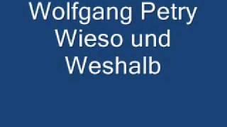 Watch Wolfgang Petry Wieso Und Weshalb video
