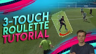 FIFA 19 TUTORIAL - Neuer Skillmove THREE TOUCH ROULETTE [deutsch] | Dribbling Tipps & Tricks