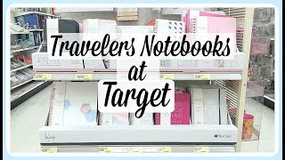 New Travelers Notebook at Target / MayDesigns for BlueSky