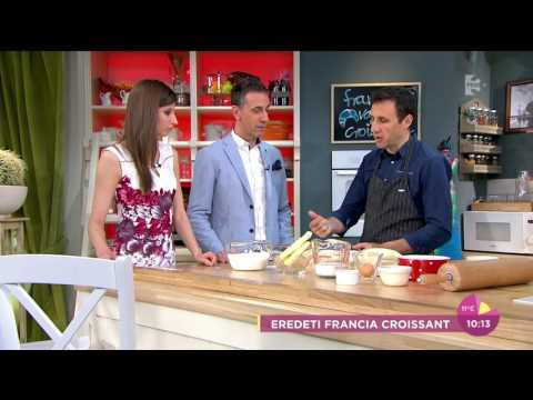 Erre számíts, ha croissant készítesz! - tv2.hu/fem3cafe