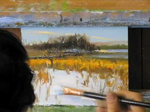 Peter Fiore: Landscape Painting a Day (10 min)