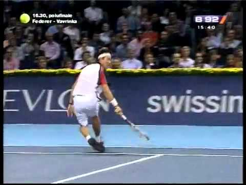 Novak Djokovic vs Kei Nishikori _ BASEL 2011_ Best 2 Points
