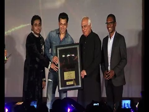 Salman Khan launches Rahmans album Raunaq