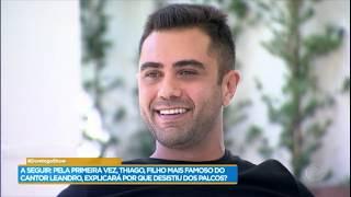Thiago, filho de Leandro, explica por que deixou os palcos