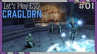 The Star-Gazer's Quest Trouble - Let's Play ESO: Craglorn! #01 Elder Scrolls Online Let's Play