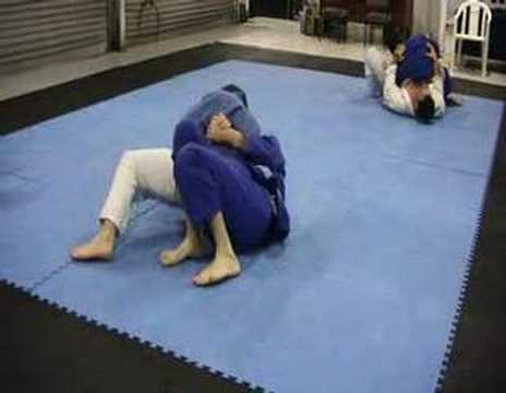 Kesa Gatame Escape (Bad Technique) Image 1