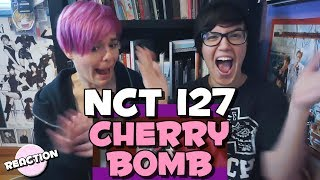 NCT 127 CHERRY BOMB MV REACTION