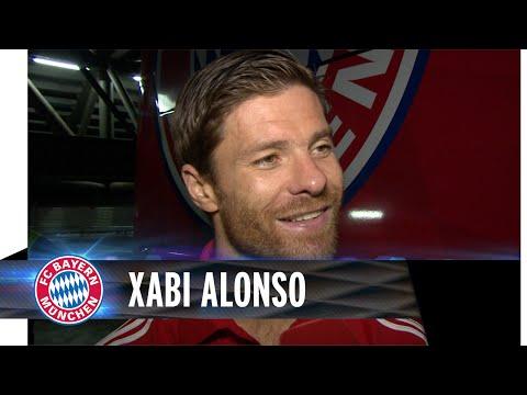 Xabi Alonso after the match vs Schalke 04