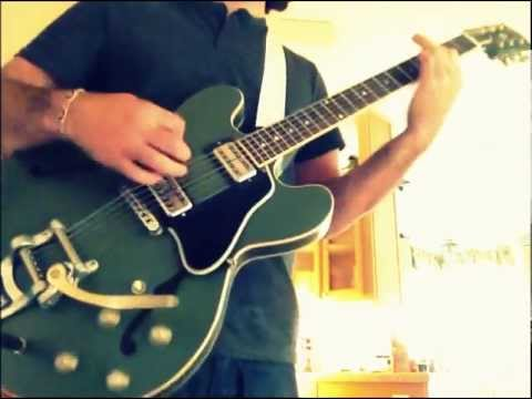 "Playing Along with Soundgarden on the Gibson Chris Cornell ES-335 - ""Head Down"""