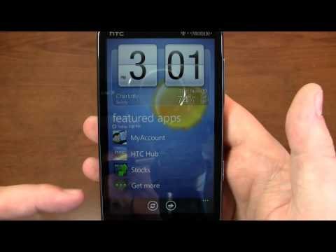 HTC HD7 Review Part 1