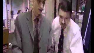 The Office UK best moments p1