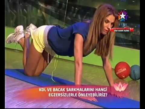 Tülin Şahin Güzellik Egzersizleri 2 - Melek StarTV (20 Nisan 2012)