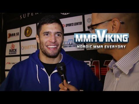 Fernando Gonzalez Superior Challenge 11 Post Fight Interview