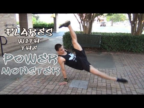 How To Breakdance | Flares Ft. Power Monster (air Force Crew) | Powermoves | Coolazntutorials video