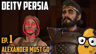 Alexander MUST go! - Civ 6 Let's Play Ep. 1 - Deity Persia