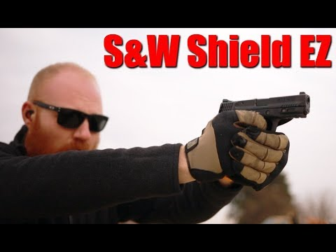 S&W M&P Shield EZ 380 First Shots