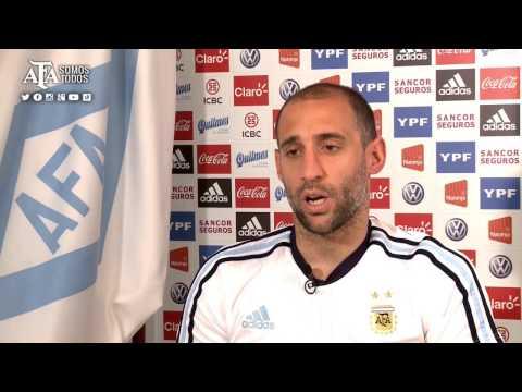 SELECCIÓN NACIONAL - Pablo Zabaleta palpita la Copa América