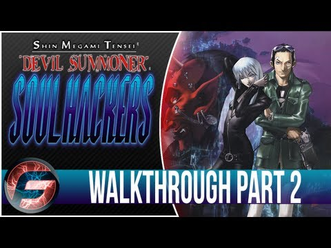 Shin Megami Tensei Devil Summoner Soul Hacker Walkthrough Part 2 [3DS]