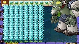 Plants vs Zombies Hack - Snow Pea vs Dr. Zomboss