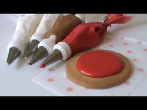 TIPS. Consistencias del Royal Icing para decorar galletas