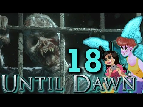 UNTIL DAWN 2 Girls 1 Let's Play Part 18: Windego Jail thumbnail