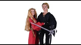 Making Buttercup and Westley Dolls From 'The Princess Bride'