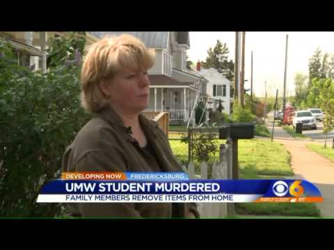 WATCH: Family remove items from murdered student`s apartment